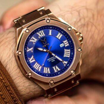 Automatic - Rosengold & Blau
