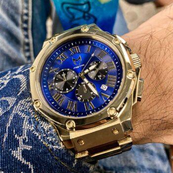 Gold & Blau