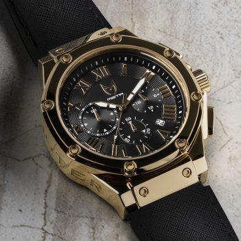 Polished Gold - Leder