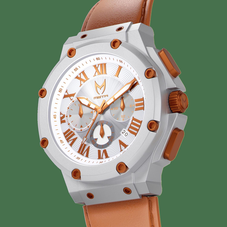 Silber & Kupfer – Leder
