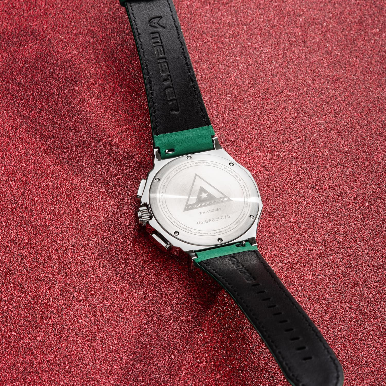 Silber & Grün – Leder