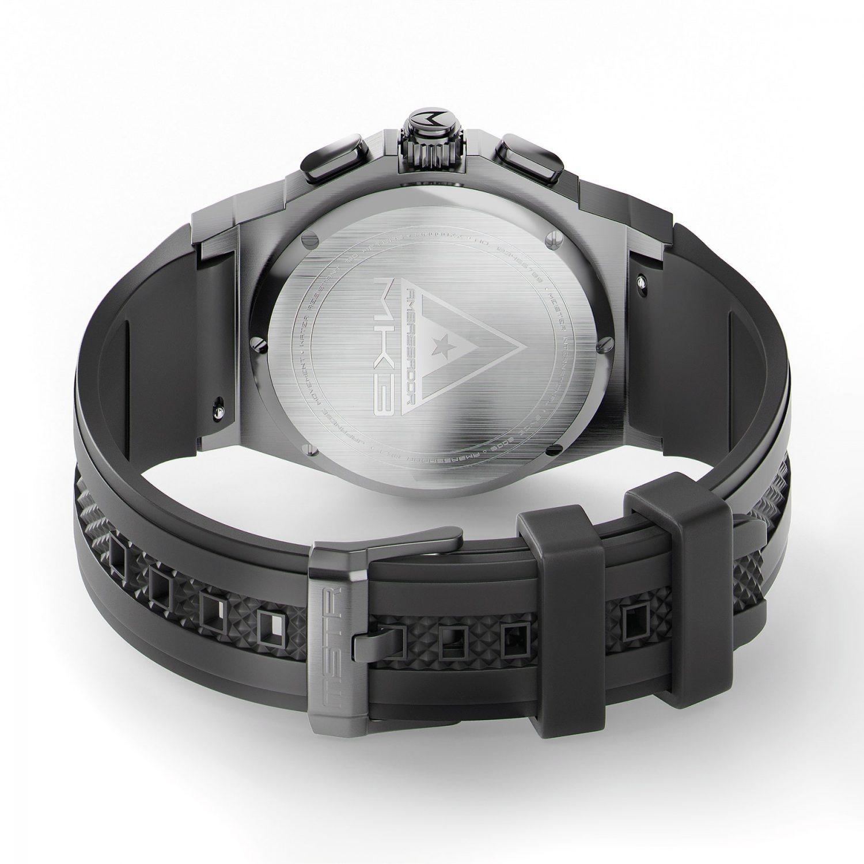 Titanium Grau & Schwarz