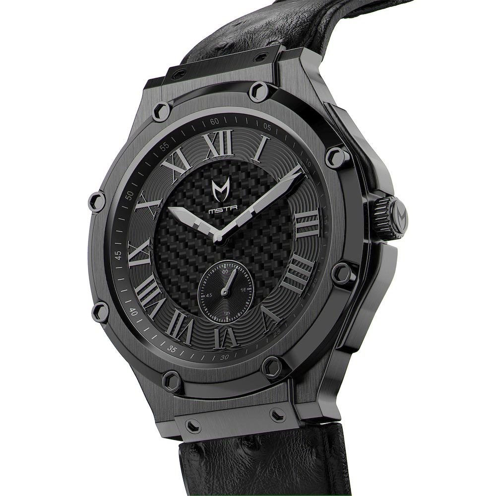 Carbon Schwarz – Leder