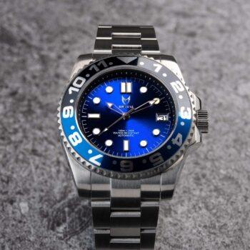 Automatic - Blau & Schwarz