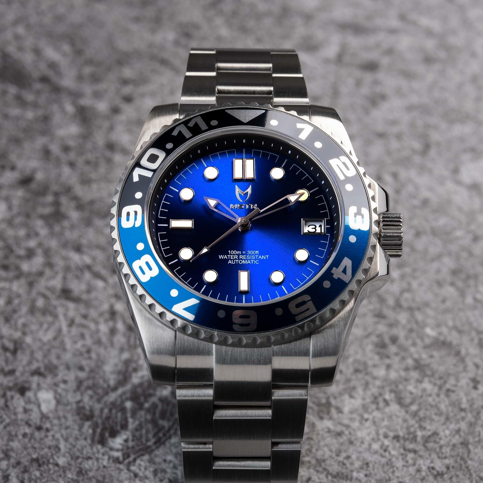 Automatic – Blau & Schwarz