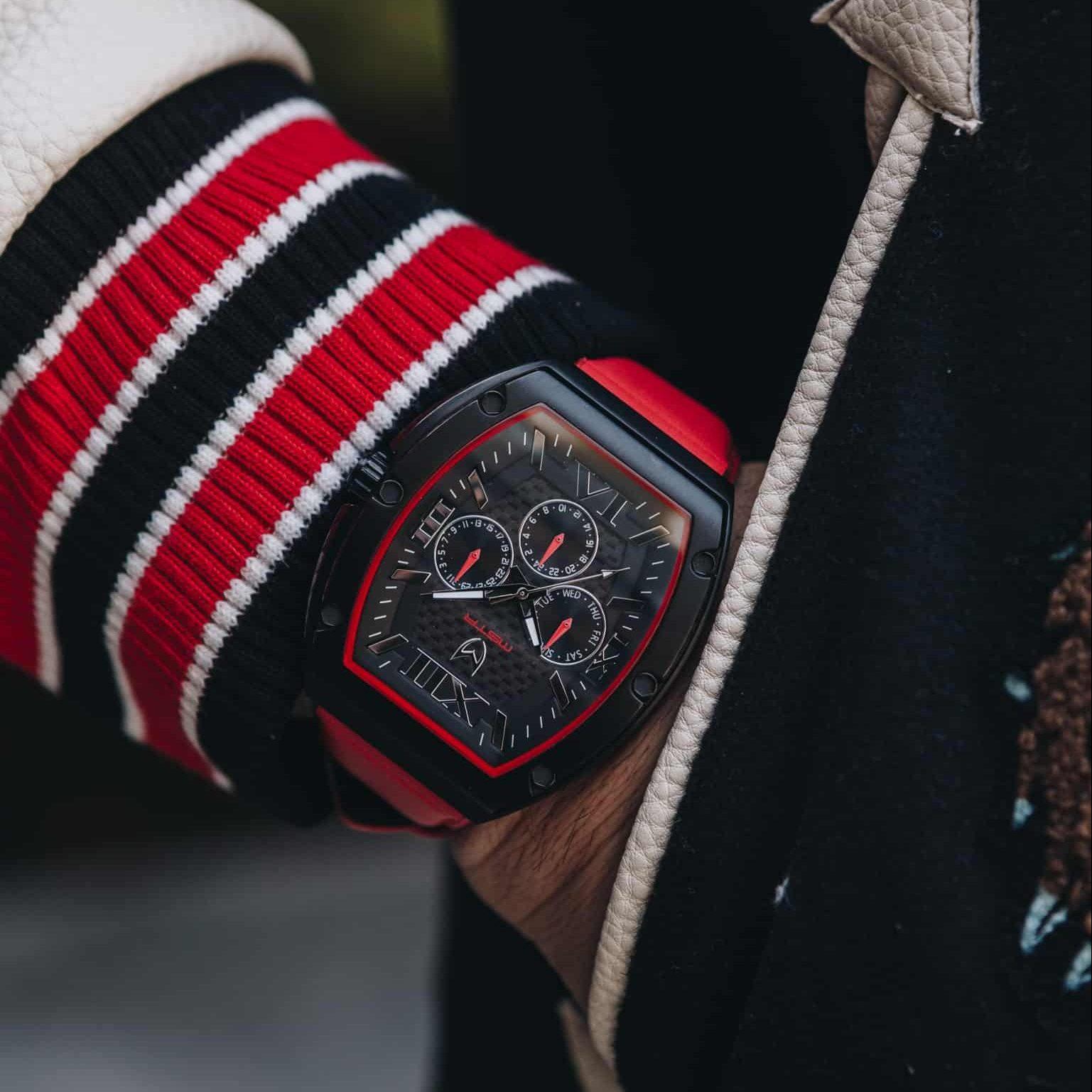 Schwarz & Rot
