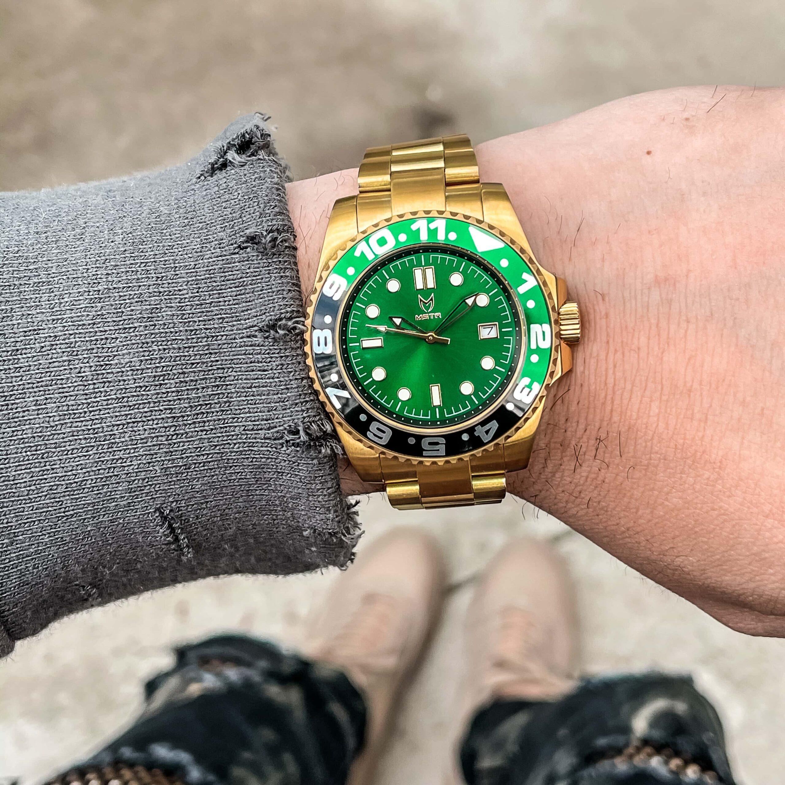 Gold & Grün